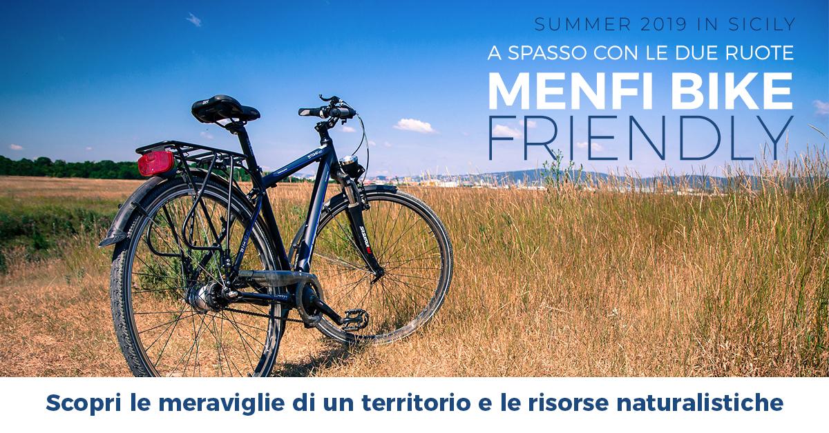 Menfi bike-friendly: a spasso con le due ruote