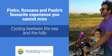 In bicicletta tra mare e colline, Cycling beetwen the sea and the hills