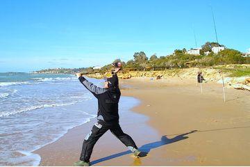 Menfi Surf-Casting: pesca dalla spiaggia